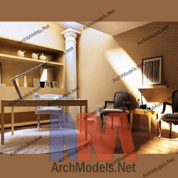 office-scene_00002-3d-max-model