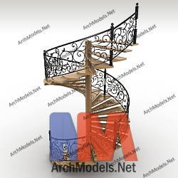 stairs_00001-3d-max-model