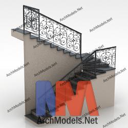 stairs_00004-3d-max-model