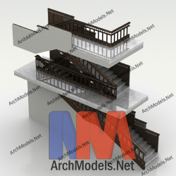 stairs_00010-3d-max-model