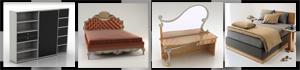 Bedroom 3D Models