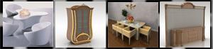 Dining Room 3D Models